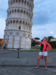 Jessica Spanier Leaning Tower of Pisa